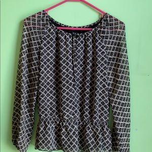 Polyester dressy shirt